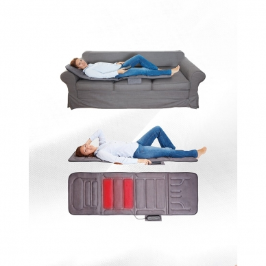 Vibratsioon ja küte madrats Lanaform Massage Mattress 3