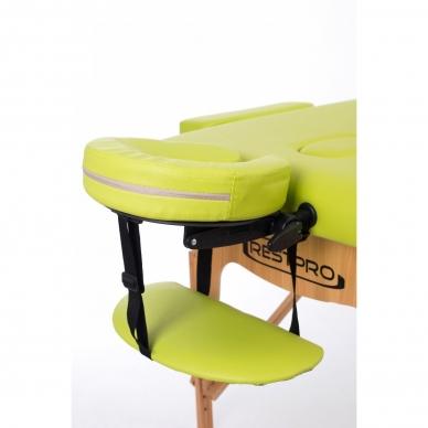 Sulankstomas masažo stalas Restpro Classic 2 /Olive 5