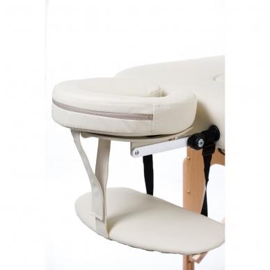 Sulankstomas masažo stalas Vip 4 (Cream) 3