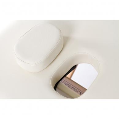 Sulankstomas masažo stalas Vip 4 (Cream) 4