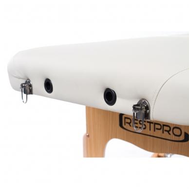 Sulankstomas masažo stalas Vip 4 (Cream) 7