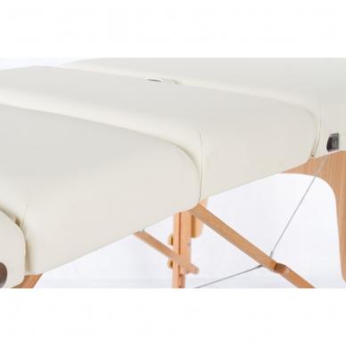 Sulankstomas masažo stalas Vip 4 (Cream) 8
