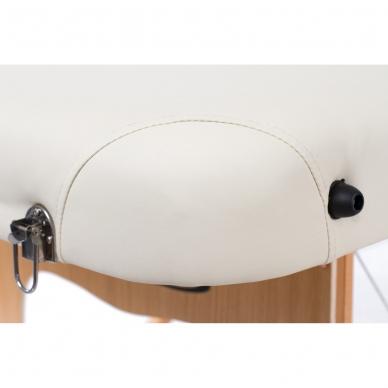 Sulankstomas masažo stalas Vip 4 (Cream) 9