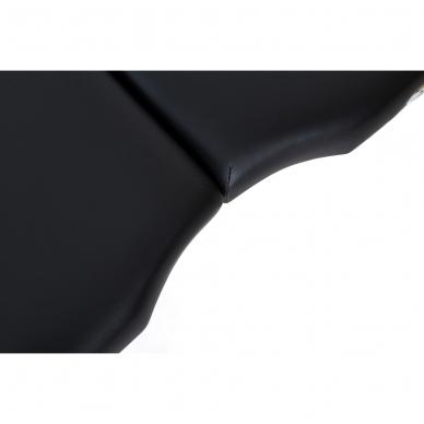 Kokkupandav massaažilaud Vip Oval 2 (Black) 7