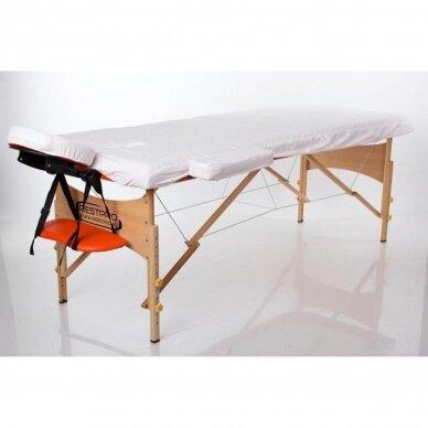 Masažo stalo medvilninis užvalkalas (192x70cm)