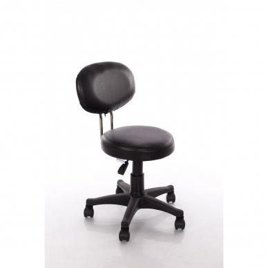 Meistara krēsls Round 3 (Black) 2