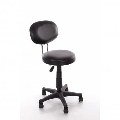 Meistara krēsls Round 3 (Black) 3