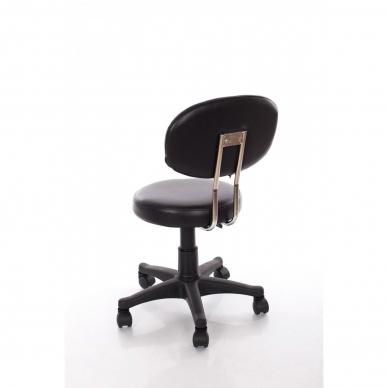 Meistara krēsls Round 3 (Black) 4