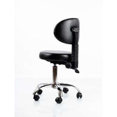 Meistara krēsls Round 5 (Black) 6