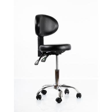 Meistara krēsls Round 5 (Black) 7