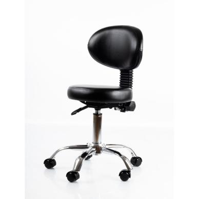 Meistara krēsls Round 5 (Black) 3