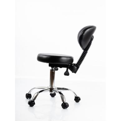 Meistara krēsls Round 5 (Black) 4