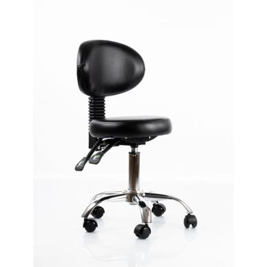 Meistara krēsls Round 5 (Black) 5