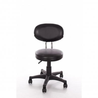 Meistara krēsls Round 3 (Black)