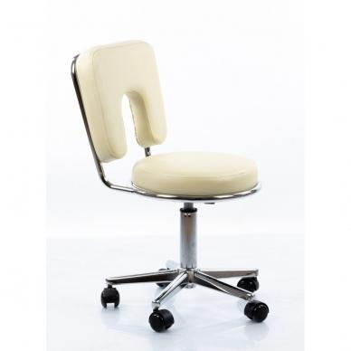 Masažuotojo kėdė Restpro Round 4/Beige 2