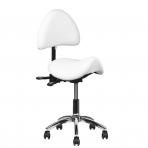 Meistara krēsls COSMETIC STOOL WHITE