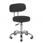 Meistara krēsls BEAUTY STOOL BLACK HYDRAULIC