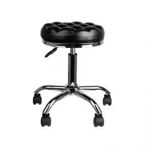 Meistara krēsls BEAUTY WAVY BLACK