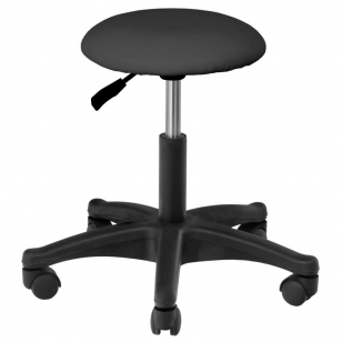 Meistara krēsls BEAUTY STOOL BLACK