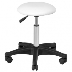 Meistro kėdutė BEAUTY STOOL WHITE
