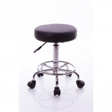 Meistara krēsls Round 2 (Black) 2