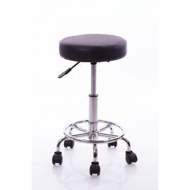 Meistara krēsls Round 2 (Black)