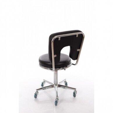 Meistara krēsls Round 4 (Black) 3
