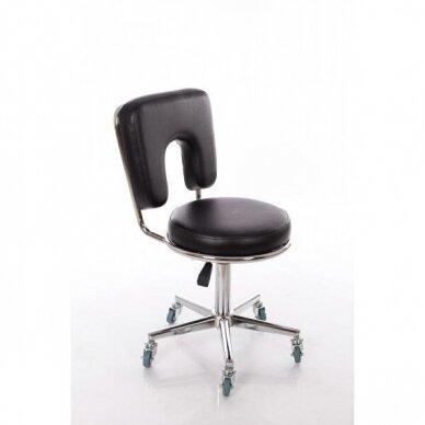 Meistara krēsls Round 4 (Black) 4