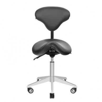 Meistara krēsls AZZURRO BEAUTY BLACK 2