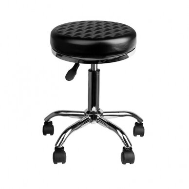 Meistara krēsls BEAUTY DIAMOND BLACK 2