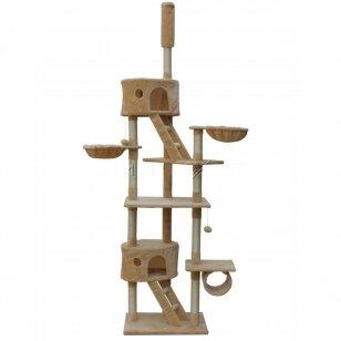 Kačių namelis - draskyklė 230-260cm BEIGE