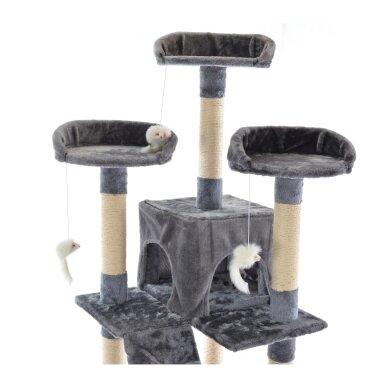 Kaķu māja - nagu asināmais 180cm GREY 2