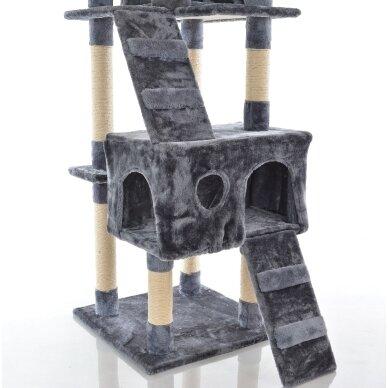 Kaķu māja - nagu asināmais 180cm GREY 3