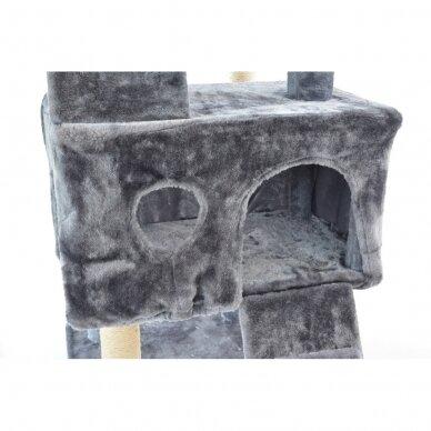 Kaķu māja - nagu asināmais 180cm GREY 5