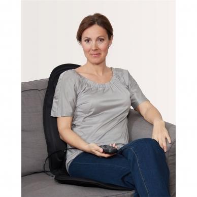 Muguras masažieris - krēsla paliktnis Lanaform Back Massager 4