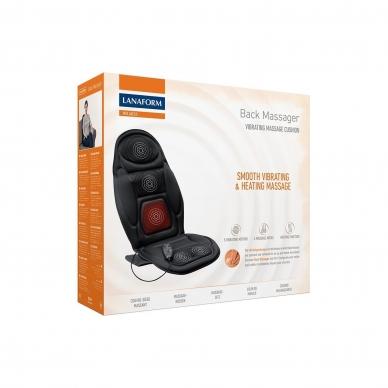 Muguras masažieris - krēsla paliktnis Lanaform Back Massager 5