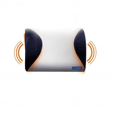 Nugaros masažuoklis - masažinė pagalvė Lanaform Turbo Mass 2