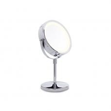 Padidinamasis veidrodis su apšvietimu (x1 / x10)