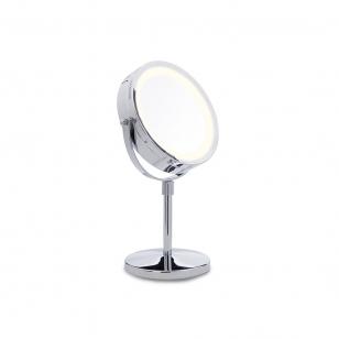 Palielināmais spogulis Lanaform ar apgaismojumu (x1 / x10)