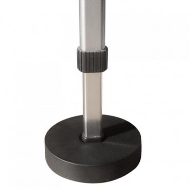 Padėkliukai aliuminio masažo stalo kojoms (4 vnt.) 2