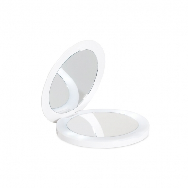 Vaizdą didinantis (X1/X2) veidrodis su LED apšvietimu Lanaform OH Mirror