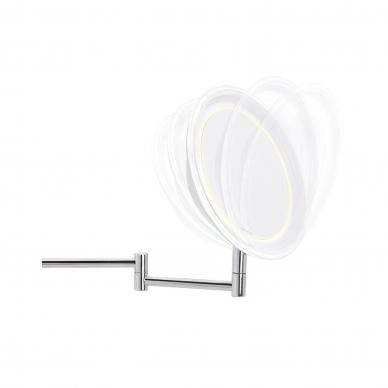 Padidinamas veidrodis su LED apšvietumu (x10) 2