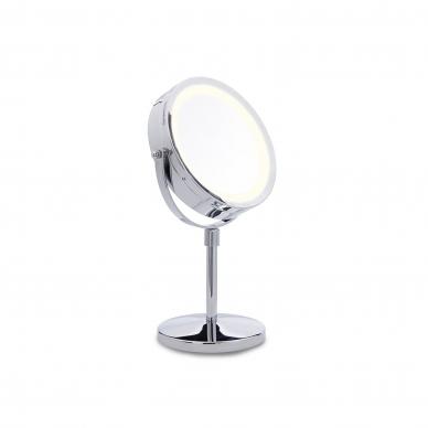 Vaizdą didinantis veidrodis (X1 / X10) su apšvietimu
