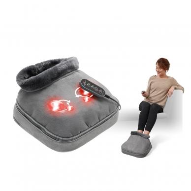 Pėdų masažuoklis-šildyklė Lanaform 2-in-1 Shiatsu Comfort 10