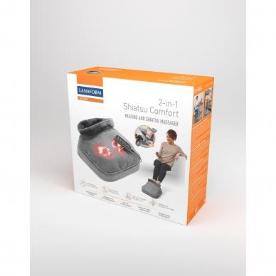 Pėdų masažuoklis-šildyklė Lanaform 2-in-1 Shiatsu Comfort 20