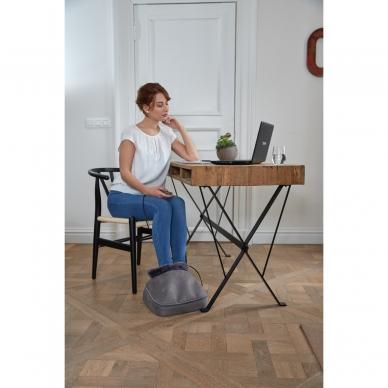 Pėdų masažuoklis-šildyklė Lanaform 2-in-1 Shiatsu Comfort 17