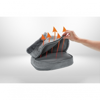 Apkures un masāžas spilventiņš Lanaform 2-in-1 Shiatsu Comfort 2