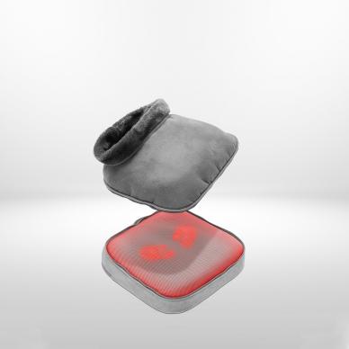 Apkures un masāžas spilventiņš Lanaform 2-in-1 Shiatsu Comfort 7