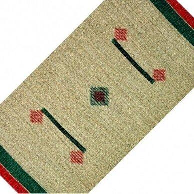 Pintas kilimėlis iš jūros žolės SQUARE (80 x 160cm)