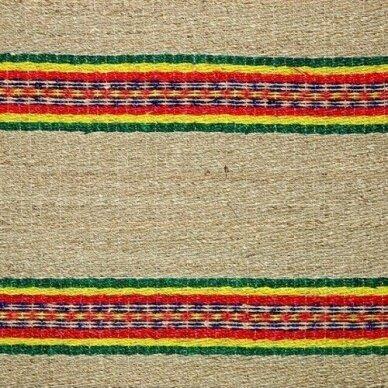 Pintas kilimėlis iš jūros žolės BARS (80 x 160cm) 2